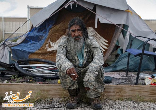 بیخانمانهای آمریکا در یک نگاه