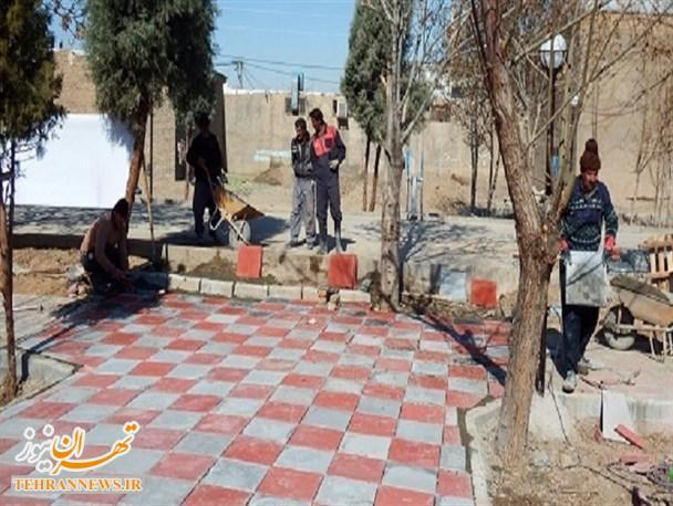 افتتاح یک پروژه نیمه تمام در بخش جلیل آباد پیشوا!