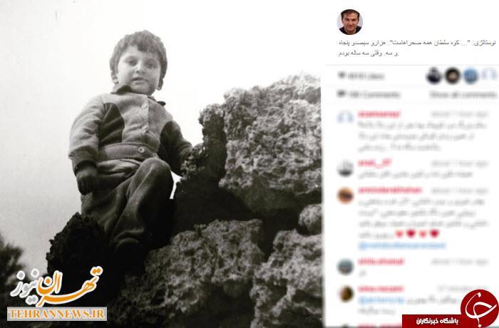 سه سالگی مهدی سلطانی + عکس