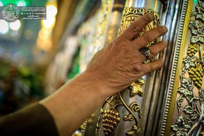 عکس/عزای فاطمی در حرم حضرت امیرالمومنین علی علیه السلام