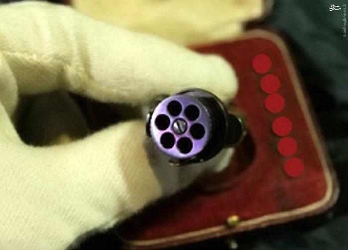 عکس/ کوچکترین اسلحه جاسوسی دنیا