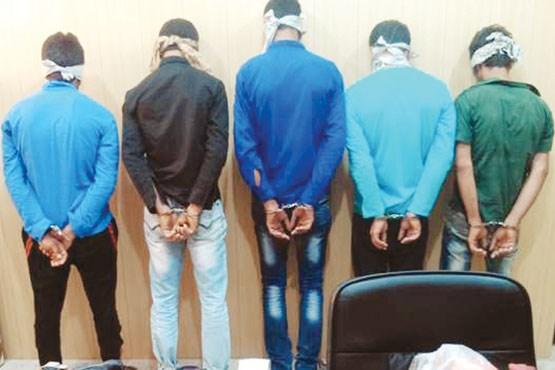 دزدان داعش نما در جنوب تهران دستگیر شدند