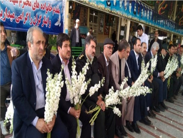 برگزاری آیین بزرگداشت روز شهدا در ملارد + تصاویر