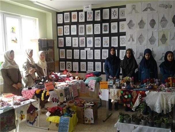 افتتاح نمایشگاه جشنواره نوجوان خوارزمی در دماوند با رونمایی از ۳۰ اثر برگزیده+تصاویر
