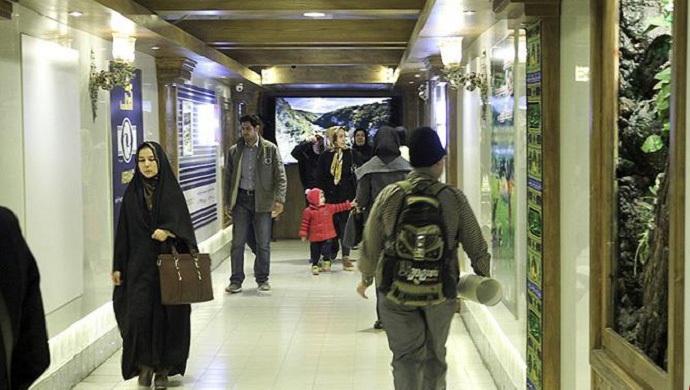 متفاوت ترین پل عابر پیاده ایران