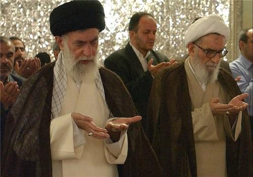 تصاویر دیده نشده از مقام معظم رهبری و آیتالله واعظ طبسی