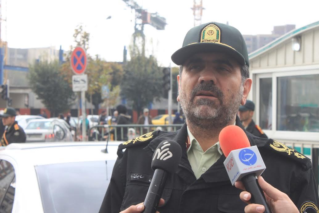 آماده باش پلیس پایتخت برای تامین امینت چهارشنبه سوری
