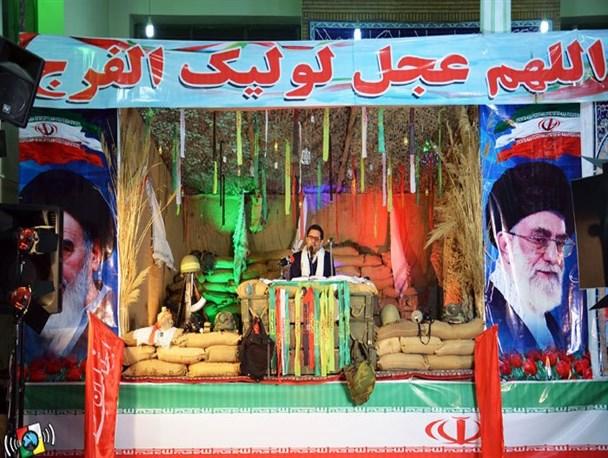یادواره شهدای مدافع حرم در رضی آباد شهریار + تصاویر