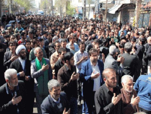گزارش تصویری تشییع پیکر شهید گودرزی