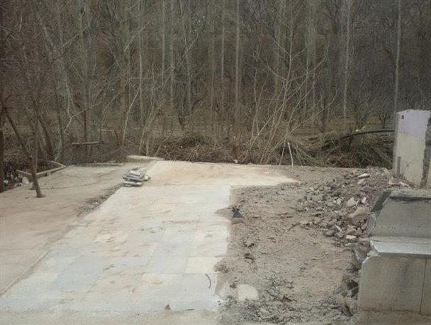 آزادسازی ۹۰۰ متر مربع از اراضی بستر و حریم رودخانه دلیچای/ توقیف یک دستگاه حفاری غیرمجاز چاه در دماوند