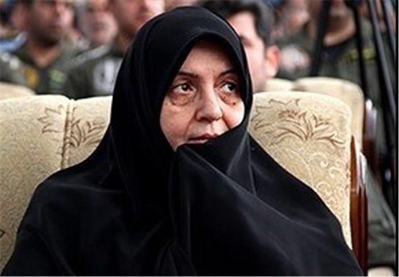 خانم صدیقه حکمت همسر شهید بابایی درگذشت