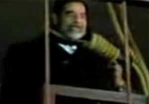 لحظه اعدام صدام حسین + فیلم
