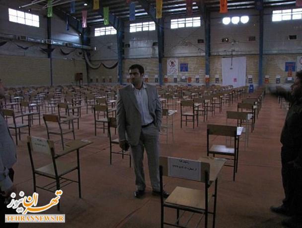 فراهمسازی زمینه جهت برگزاری مسابقات کشوری در دانشگاه پیام نور دماوند/ اندیشیدن تمهیدات لازم جهت برگزاری آزمون سراسری سال ۹۵ در دماوند