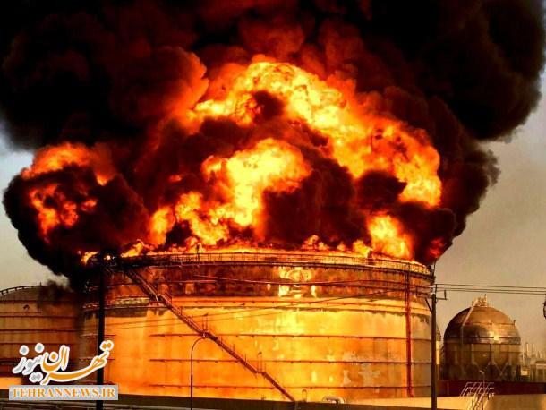 خسارت ۶۰ میلیون یورویی آتشسوزی در پتروشیمی ماهشهر
