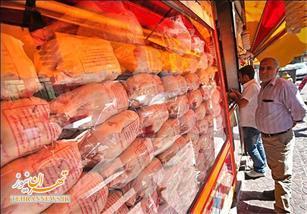 قیمت مرغ در بازار به ۸۰۰۰ تومان رسید