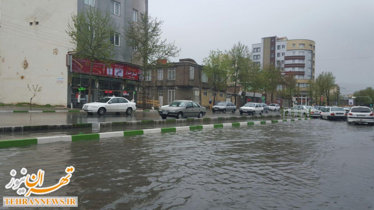 موج بارش باران سیل آسا در راه کشور/ ۷ استان بارانی هستند