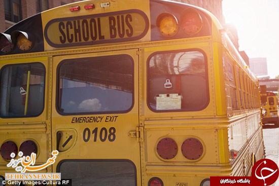 دختر بچه ۹ ساله زیر چرخهای اتوبوس مدرسه جان داد +عکس