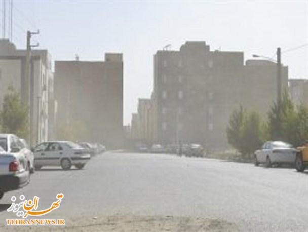 هجوم موج خاک و هوای آلوده جنوب شرق تهران به پاکدشت