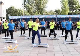 تجلیل از کارشناسان ورزش و مربیان ایستگاه های فعالیت بدنی منطقه ۱۵