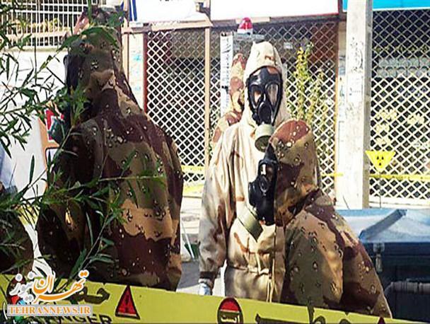 آمادگی شهرستان شهریار در مقابله با آسیبهای رادیو اکتیو محک خورد + تصاویر