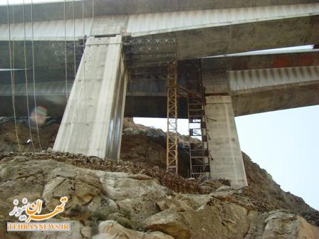 آزاد راه تهران- شمال ۳۲ درصد پیشرفت فیزیکی داشته است