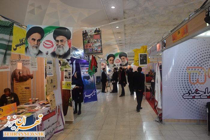 گزارش تصویری از بیست و دومین نمایشگاه مطبوعات کشور/ حضور ممنوع التصویر ها در مصلای امام خمینی (ره) تهران