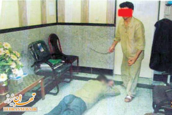 شکنجه مرگبار همسر با شیلنگ +عکس