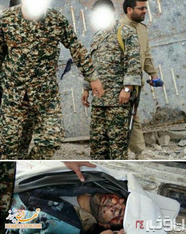 """لحظاتی قبل و بعد از شهادت شهید """"محسن خزایی"""" + عکس"""