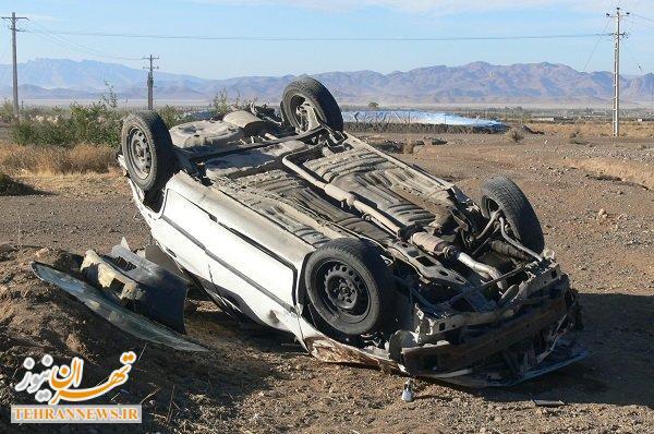 واژگونی خودروی مسافران کربلا در مرز مهران