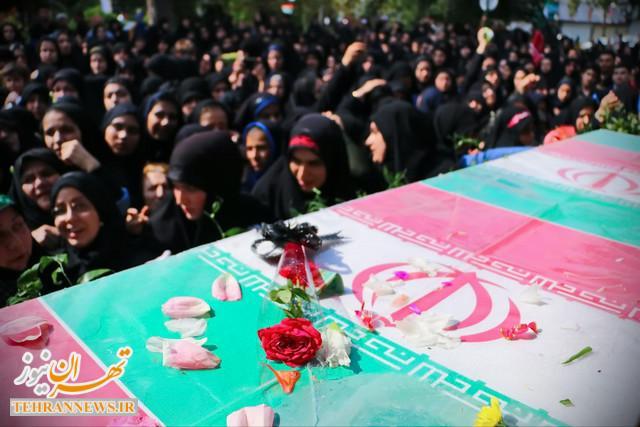 تشییع و تدفین ۱۶ شهید گمنام دفاعمقدس در ۱۰ نقطه استان تهران