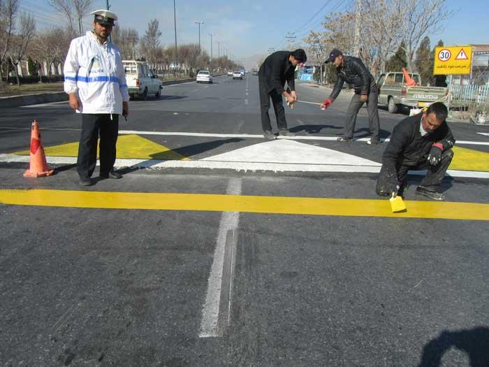 خیابان خاوران در منطقه ۱۵ ایمنسازی شد