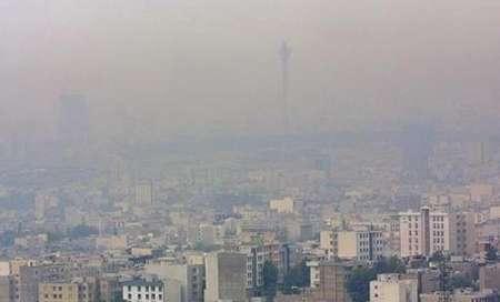 وضعیت آلودگی هوای امروز تهران +عکس