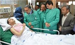آخرین وضعیت «احمد عزیزی» در آیسییو