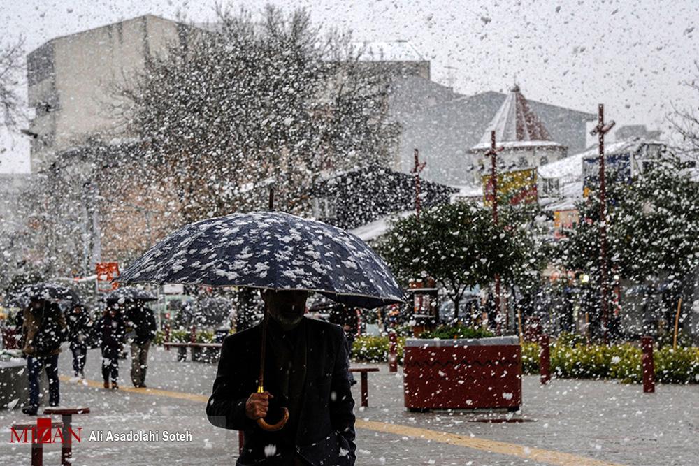بارش برف و باران تا آخر هفته در کشور/ هفته سردی پیش رو داریم