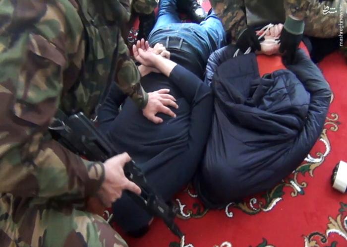 عکس/ لحظه دستگیری هفت داعشی در داغستان روسیه