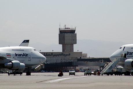 سانحه در فرودگاه مهرآباد/مسافران سالماند