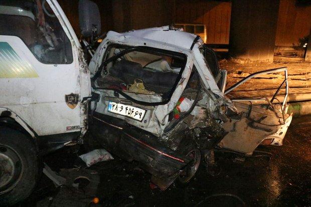 تصادف مرگبار در اتوبان امام رضا/موتورسوار جان باخت