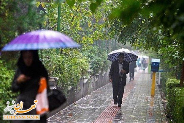 آسمان ۱۱ استان کشور بارانی شد/ تداوم بارش ها تا روز یکشنبه