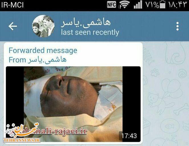 اولین عکس از پیکر آیتالله هاشمی رفسنجانی