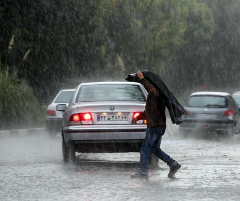 امروز و فردا بارش باران در ۱۱ استان