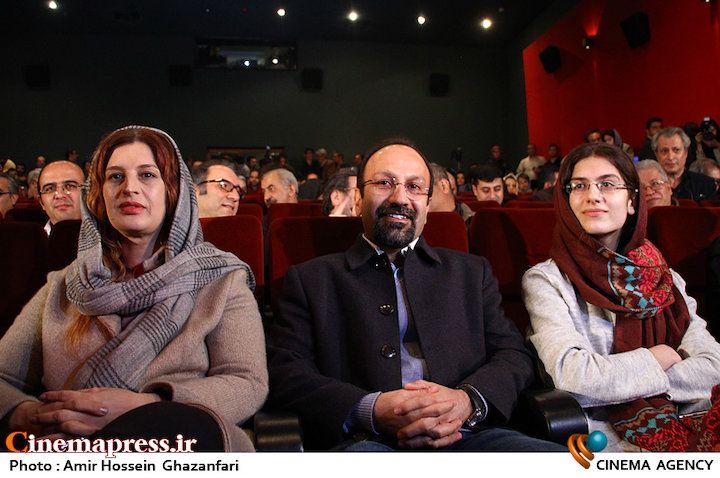 اصغر فرهادی در کنار همسر و دخترش + عکس