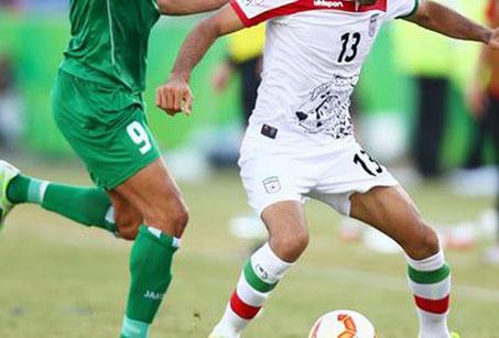 نتیجه بازی فوتبال ایران و عراق امروز