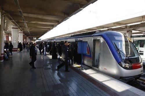 افزایش خدمترسانی مترو تهران در روزهای پایانی سال