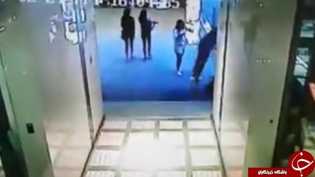 سقوط پسر جوان از طبقه چهارم مقابل دیدگان نامزدش! + تصاویر