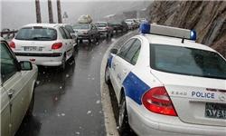 ترافیک نیمه سنگین در محور تهران به ساوه/ ترافیک روان در سایر جاده های کشور