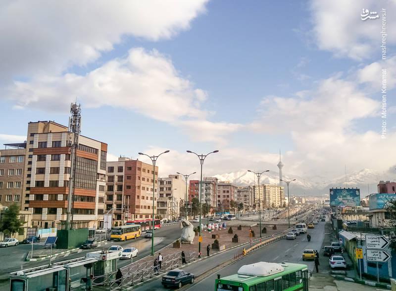 عکس/ هوای پاک و بهاری امروز تهران