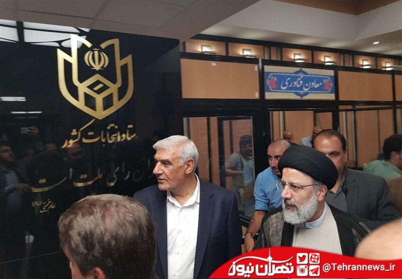 «رئیسی» وارد وزارت کشور شد + عکس