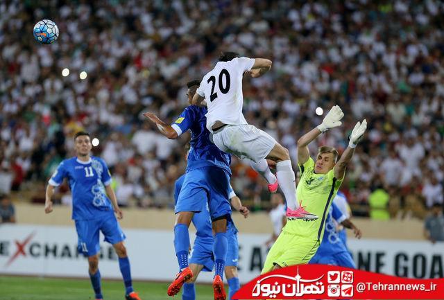 بازیکن استقلال با عصبانیت استادیوم آزادی را ترک کرد + عکس