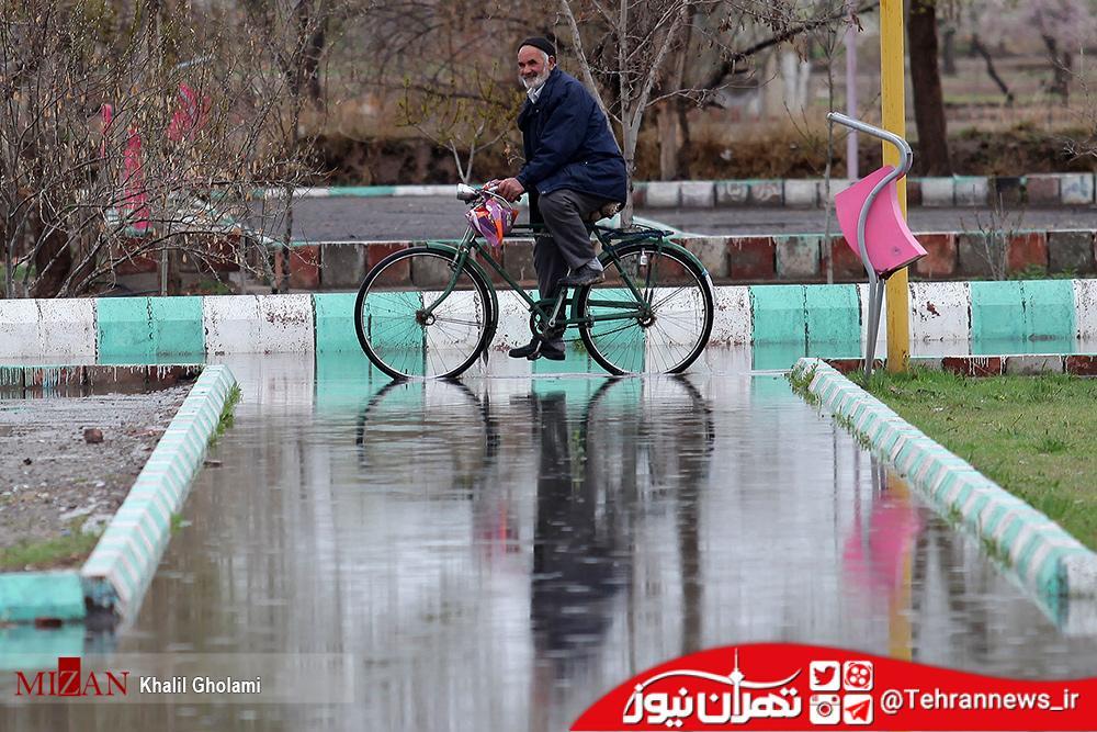 بارش باران در ۵ استان/ دمای هوای تهران ۴۰ درجه می شود