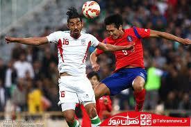 ساعت و روز بازی فوتبال ایران و کره جنوبی